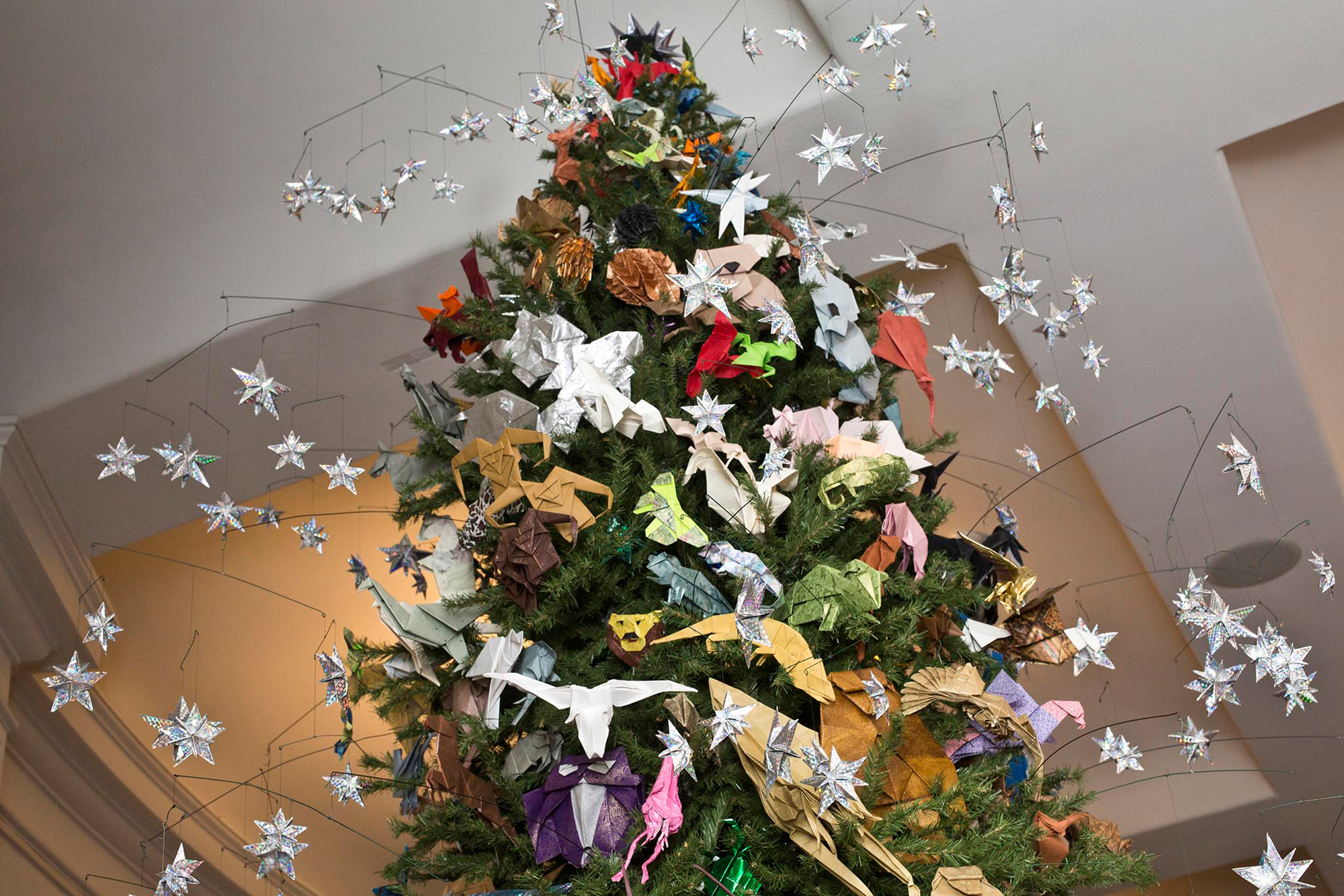 Origami Holiday Tree