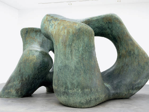 (Photograph: Courtesy Gagosian Gallery and The Henry Moore Foundation)
