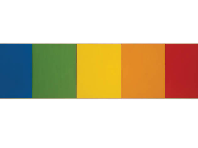 (Photograph: Copyright Ellsworth Kelly. Courtesy The Solomon R. Guggenheim Museum)