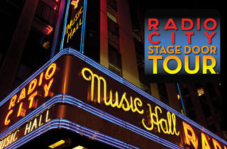 Radio City Stage Door Tour