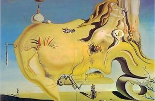 ('Le Grand Masturbateur', 1929 / Museo Nacional Centro de Arte Reina Sofia / © Salvador Dalí, Fundació Gala-Salvador Dalí / Adagp, Paris 2012)