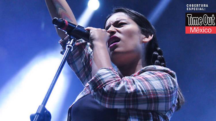 Ana Tijoux (Foto Marysol Suástegui)
