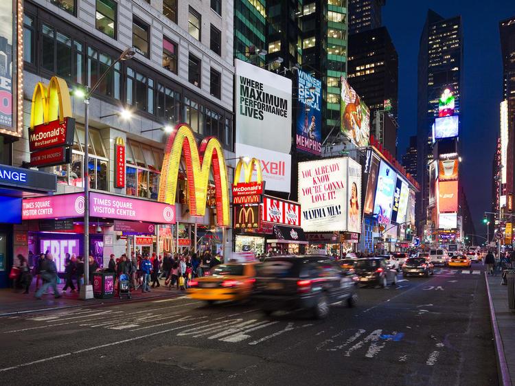Touristy: Times Square