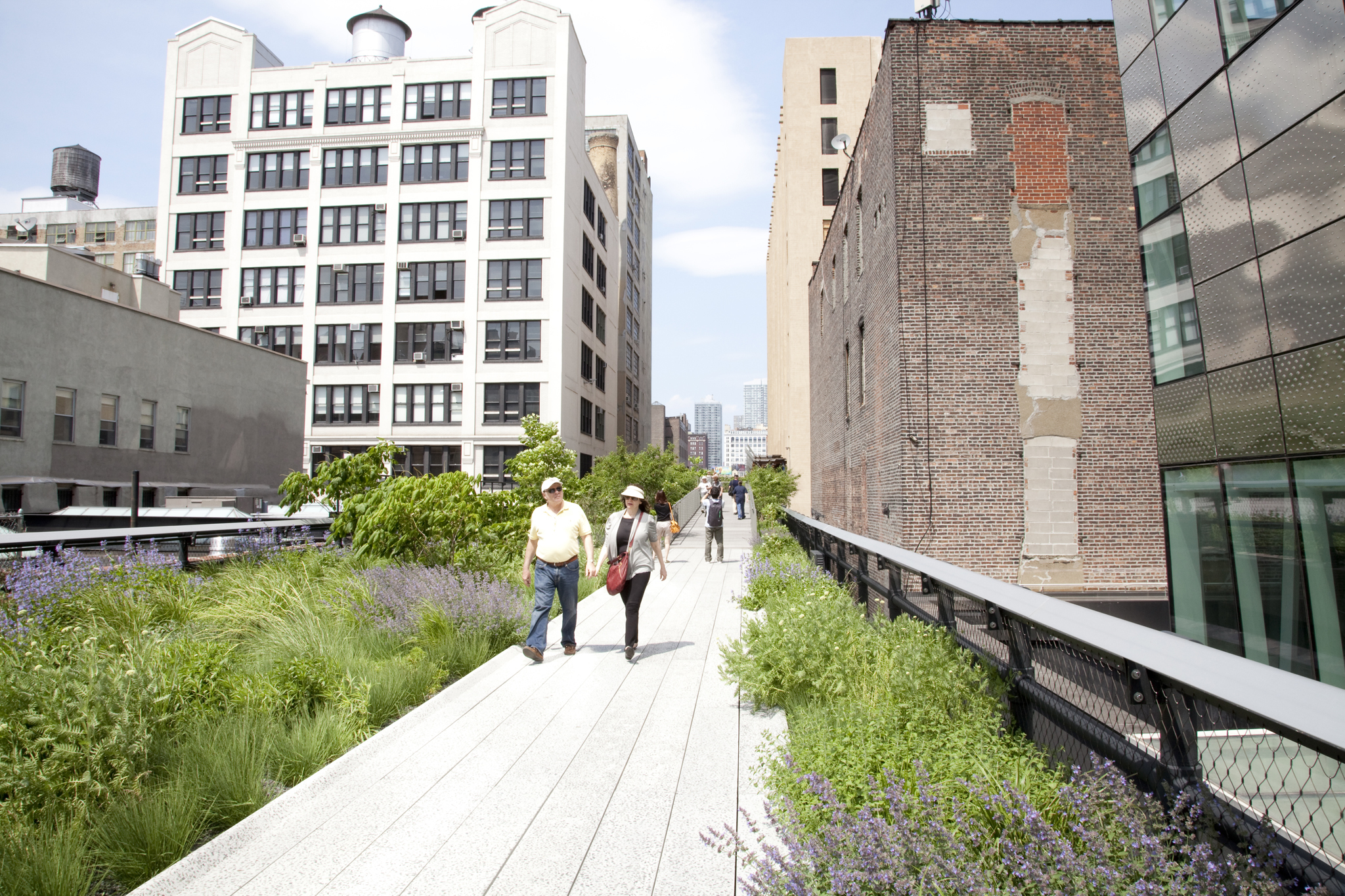 High Line map for sightseeing around the park