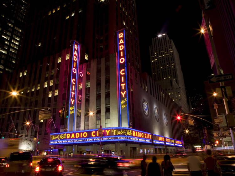 Touristy: Radio City Music Hall