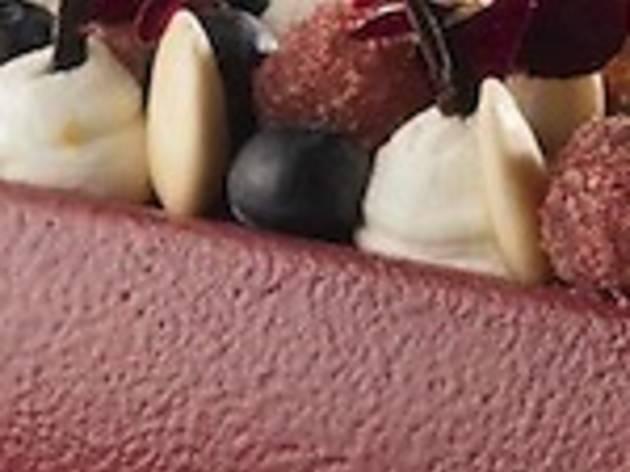 """La """"Bûche Cassiflore"""" de la pâtisserie Pain de sucre"""