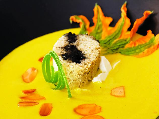 Sopa de flor de calabaza (Ariette Armella)