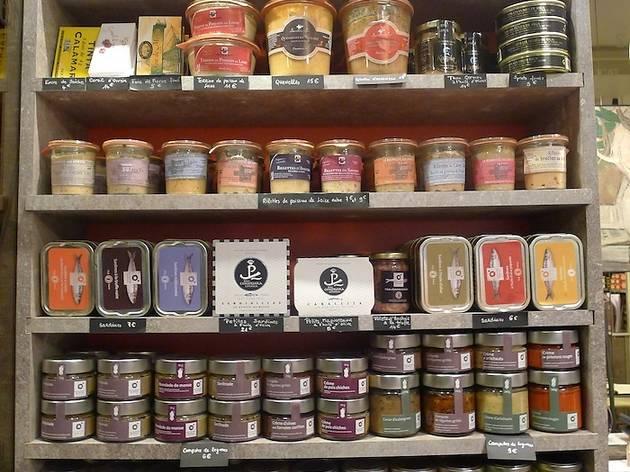 (Rillettes et délices de poissons, sardines, sel de Camargue parfumé à la truffe... / © BC)