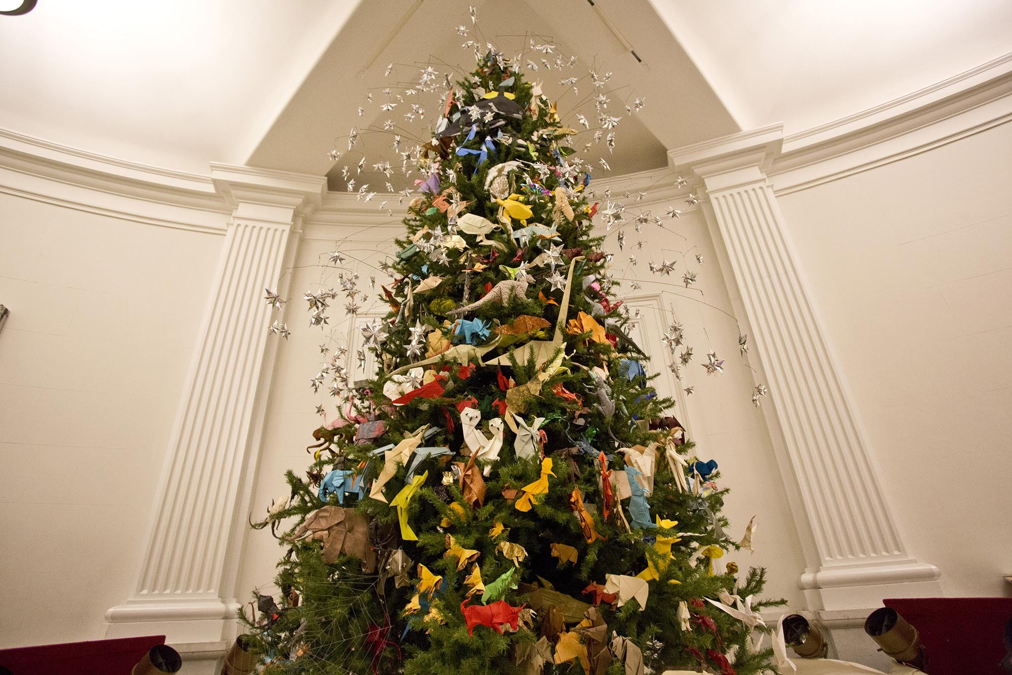 AMNH Origami Tree