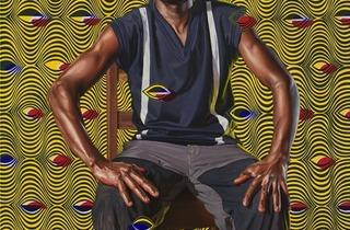 ('François Bertin, 1919-1960', 2012 / Courtesy Galerie Daniel Templon, Paris / © Kehinde Wiley / Photo : B.Huet/Tutti)