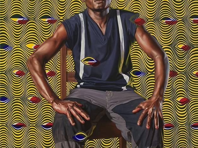 ('François Bertin, 1919-1960', 2012 / Courtesy Galerie Daniel Templon, Paris / © Kehinde Wiley / Photo : B.Huet/Tutti)