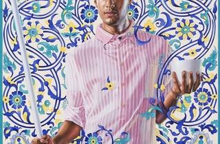 ('Emperor Napoleon I, 1912-1956', 2012 / Courtesy Galerie Daniel Templon, Paris / © Kehinde Wiley / Photo : B.Huet/Tutti)