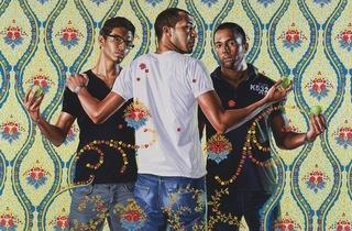 ('The Three Graces, 1881-1956', 2012 / Courtesy Galerie Daniel Templon, Paris / © Kehinde Wiley / Photo : B.Huet/Tutti)