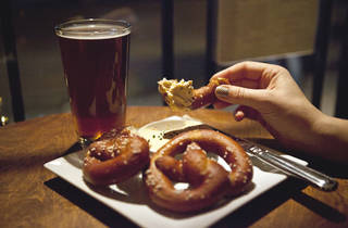The Redhead Soft Pretzels and Beer Cheese