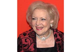 Betty White, 2010.