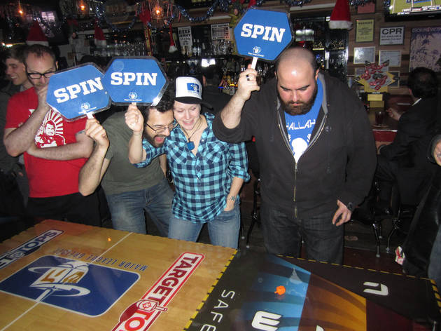 Major League Dreidels Thanks-Spinning