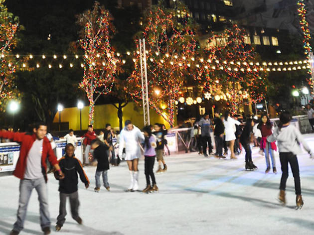Best places to go ice skating in LA