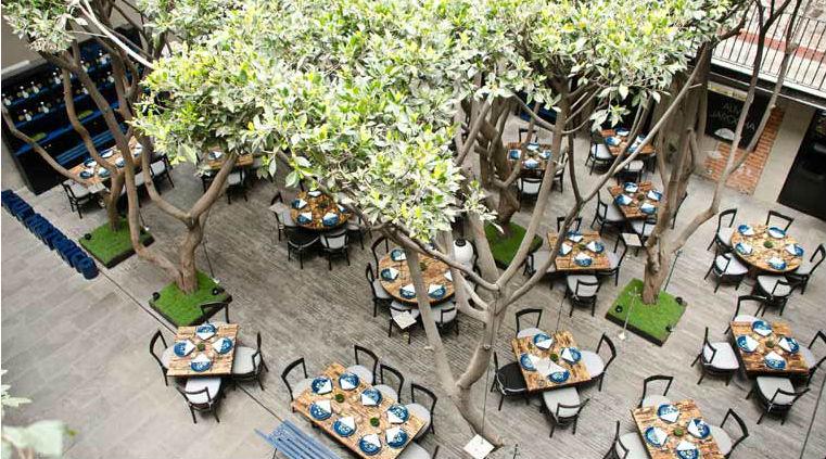 Restaurantes y cafés en el Centro