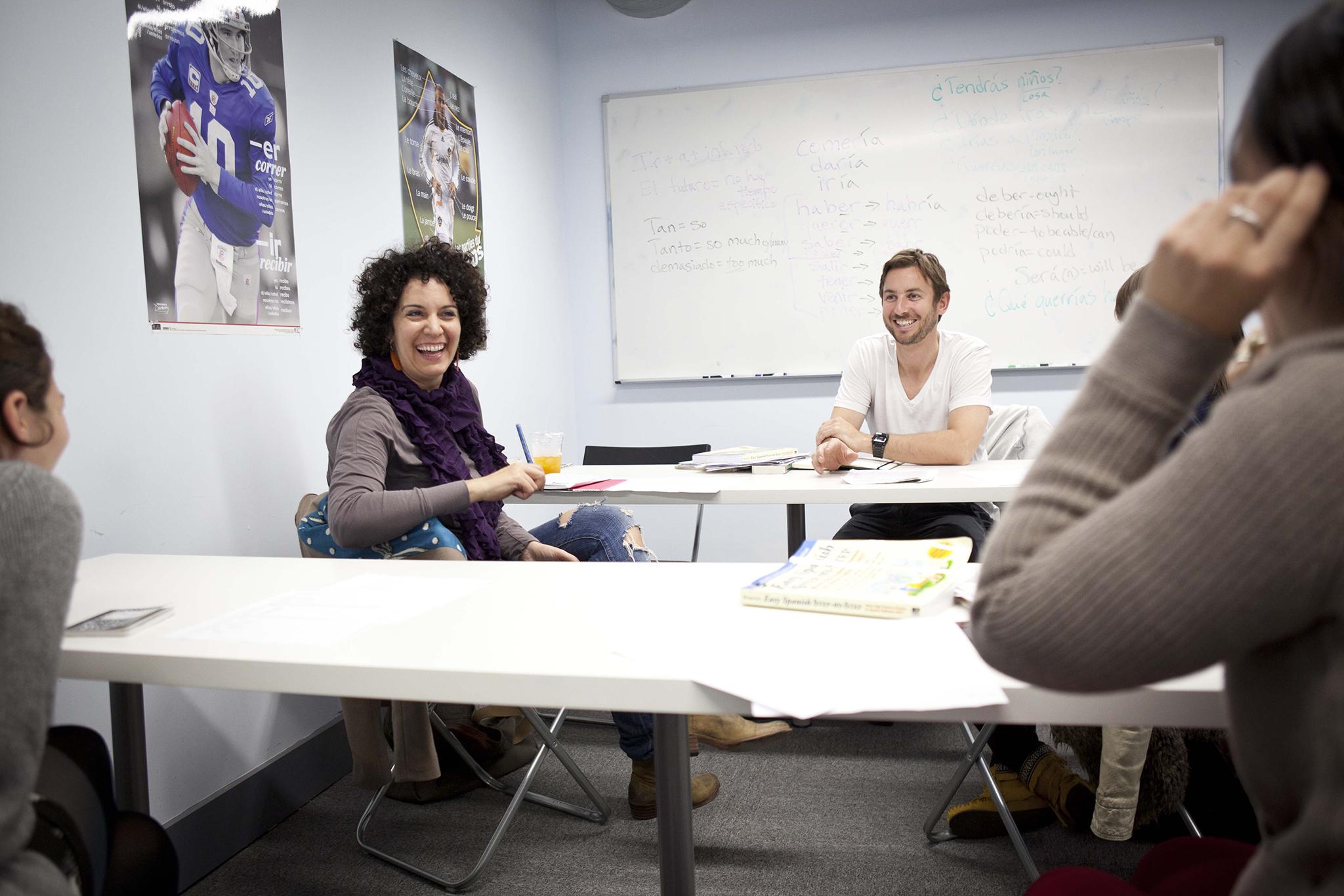 Intro classes at Fluent City