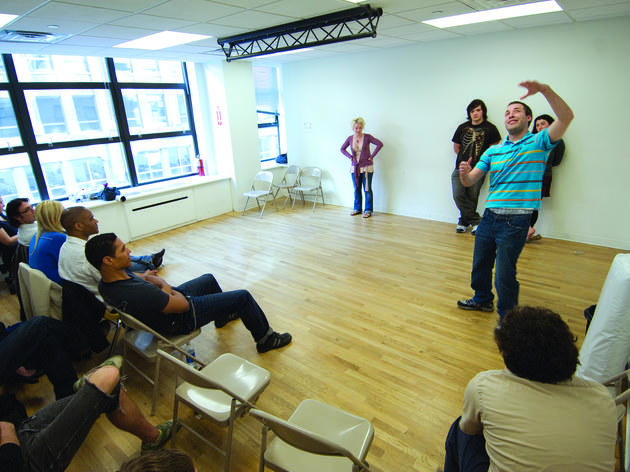 New Year's resolutions: Start this year's self improvement with an Improv 101 class at UCB Training Center in New York