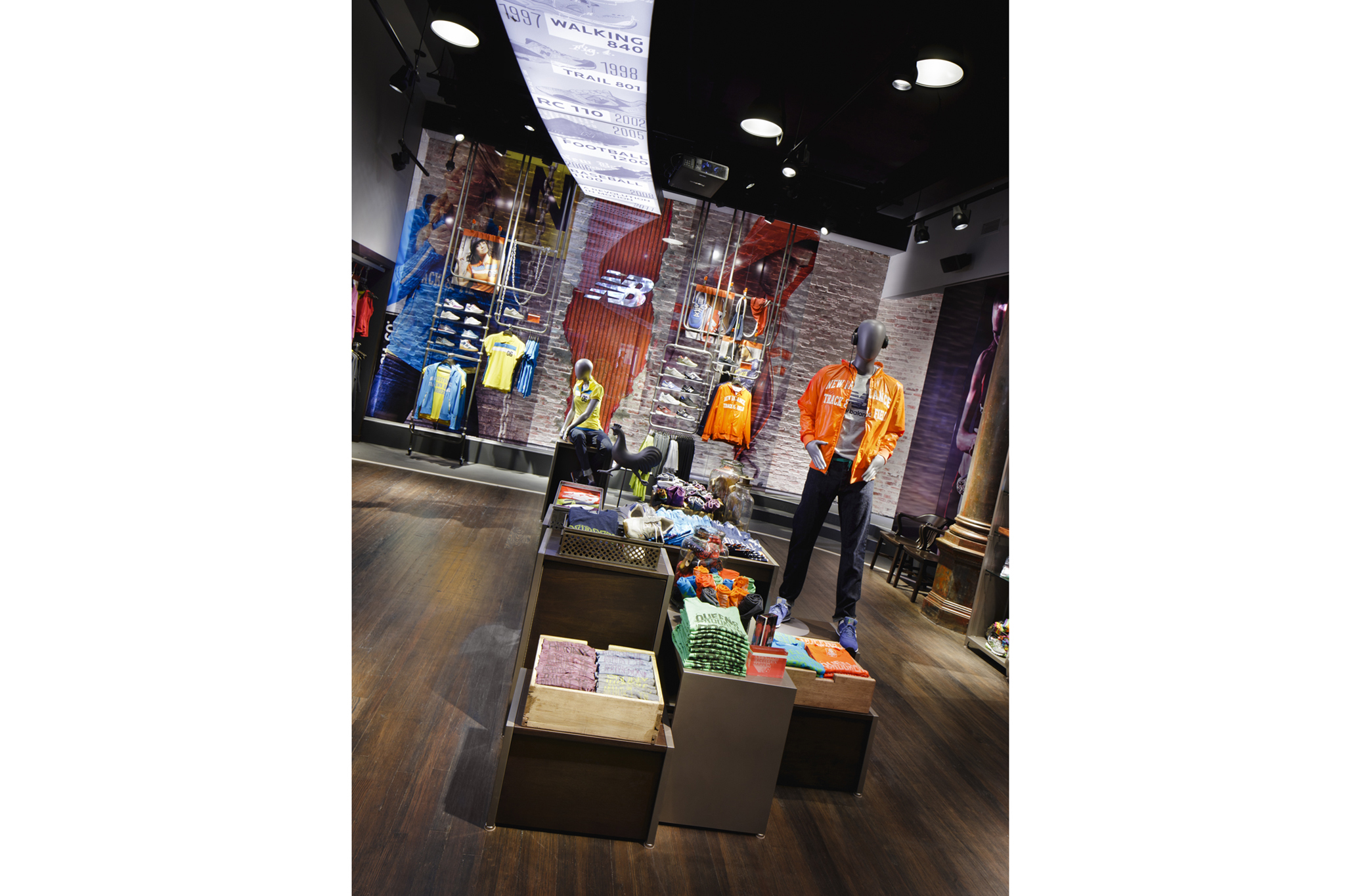 Pick out kicks at the New Balance Experience Store