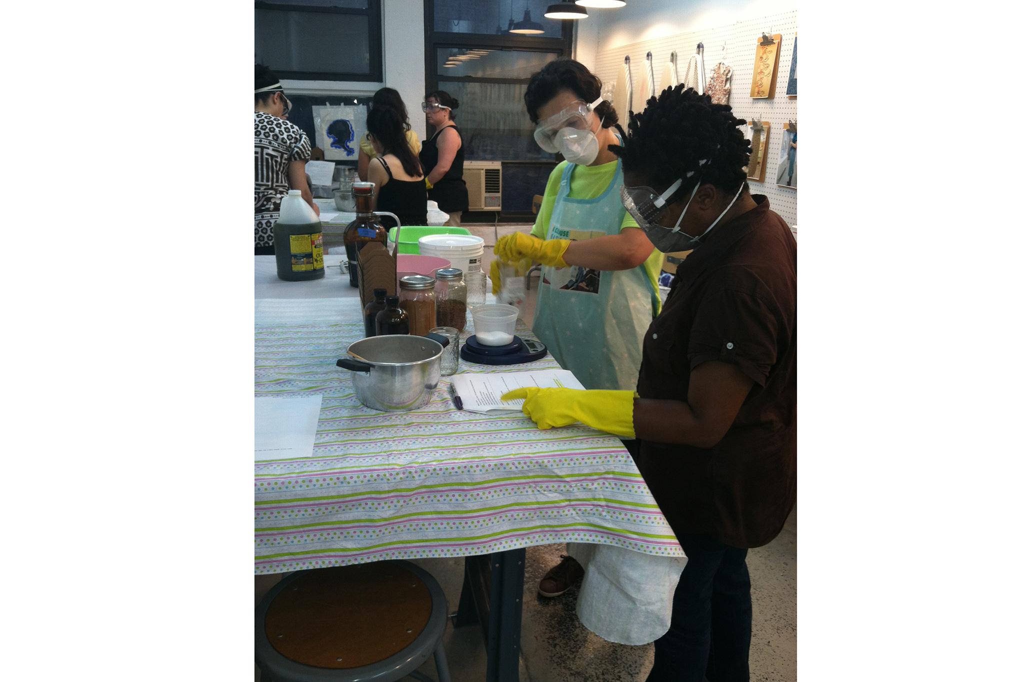 Soapmaking at Make Workshop