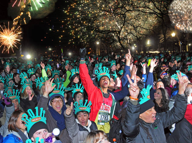 Emerald Nuts Midnight Run, New York Road Runners New Year's Eve race
