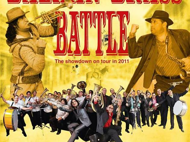 Balkan Brass Battle : Fanfare Ciocarila vs Mahala Rai Banda