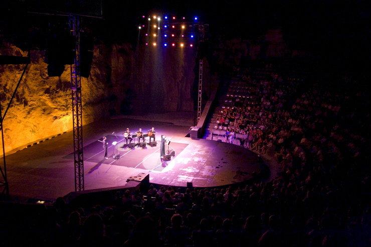 Ver una obra en el Teatre Grec