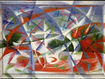 Giacomo Balla, Abstract Speed and Sound, 1913-14