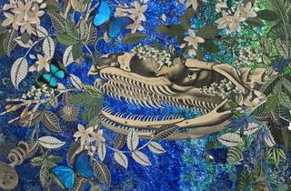 """Miriam Wosk, """"Bones of the Golden Serpent,"""" 2008"""