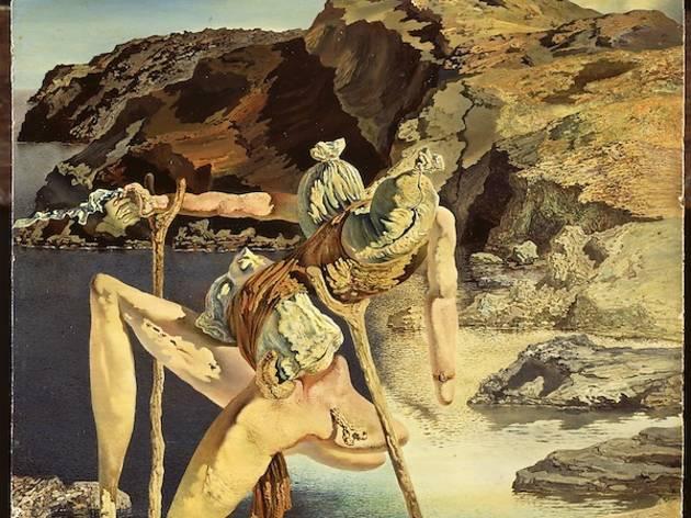 ('Le spectre du sexappeal', vers 1934 / © Salvador Dalí, Fundació Gala-Salvador Dalí / Adagp, Paris 2012)