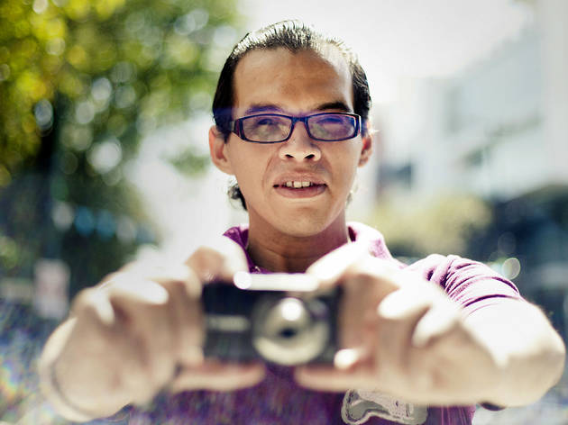 Gerardo Ramírez, fotógrafo  (Foto: Alejandra Carbajal)