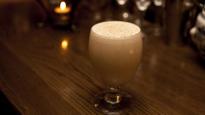Baltimore Eggnog at The Dead Rabbit