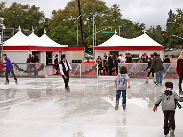 Beverly Hills Holiday Ice Rink