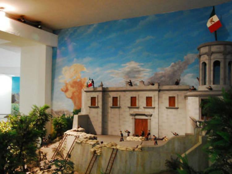 Galería de Historia. Museo del Caracol