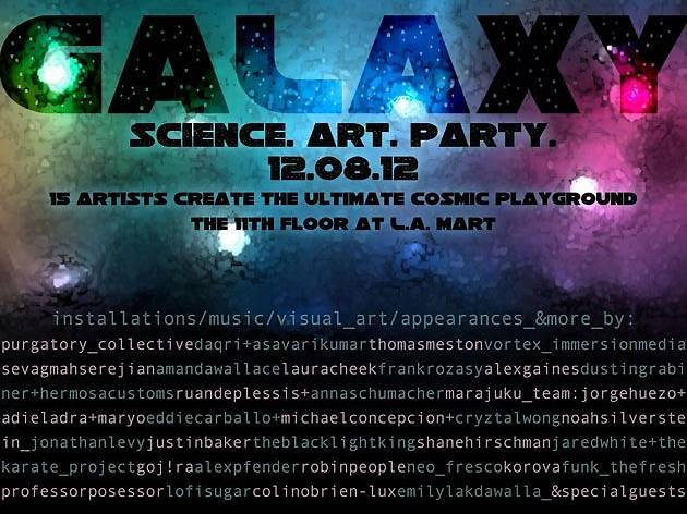 Galaxy: Science. Art. Party.