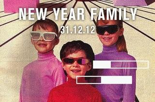 New Year Family