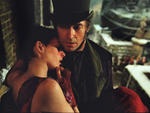 Anne Hathaway and Hugh Jackman in Les Miserables