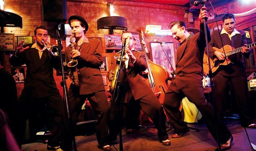 Locals de jazz en directe