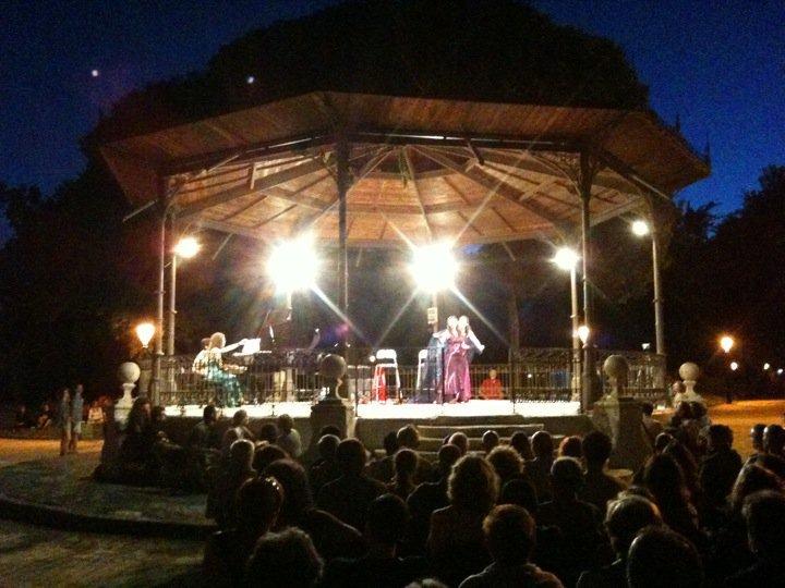 Música als Parcs 2015: Trio Crescendo