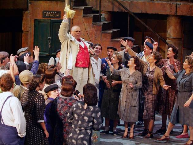 'L'elisir d'amore', at the Liceu
