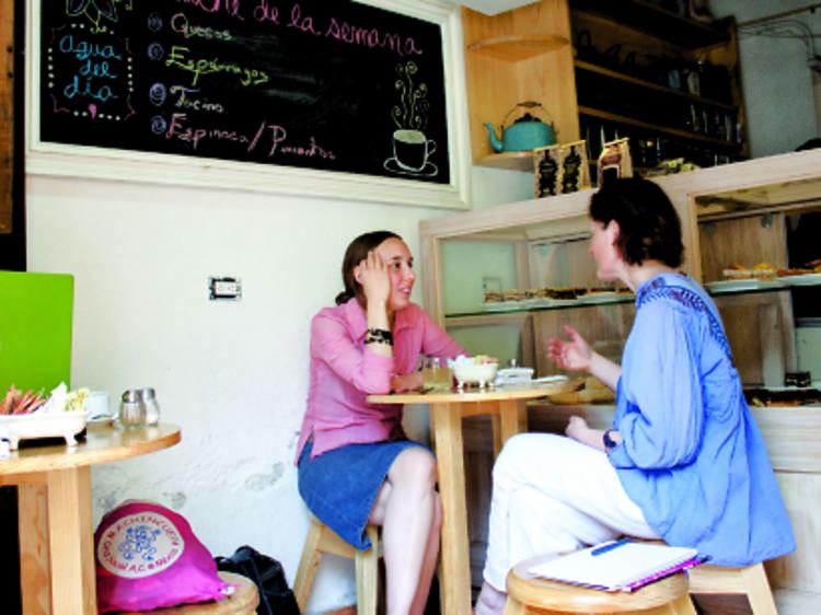 Desayuno: Café Ruta de la Seda
