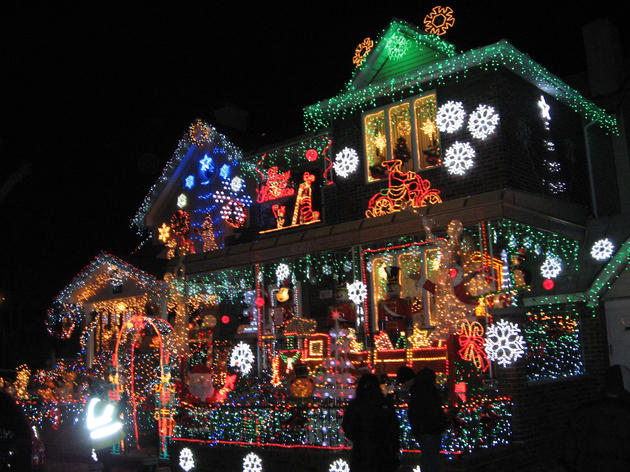 See the holiday lights in Dyker Heights