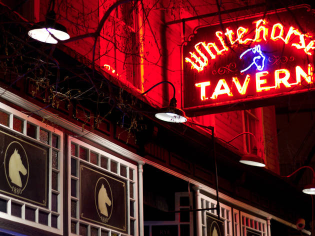 Historic Greenwich Village Taverns at Christmas