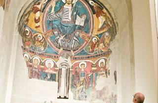 Apse of St Clement, 1123 (Master of Taüll)