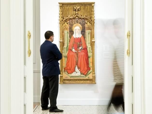 Santa Maria Magdalena, 1470  (Jaume Huguet (1412 – 1492))