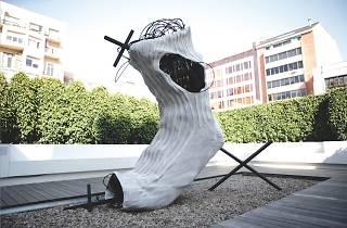 Sock, 2010  (Antoni Tàpies (1923 – 2012))