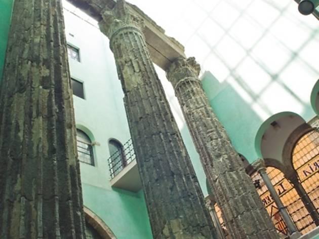 columnes d'august