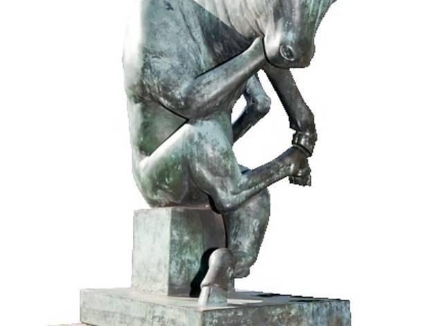 (Meditation (bull) / 1972)
